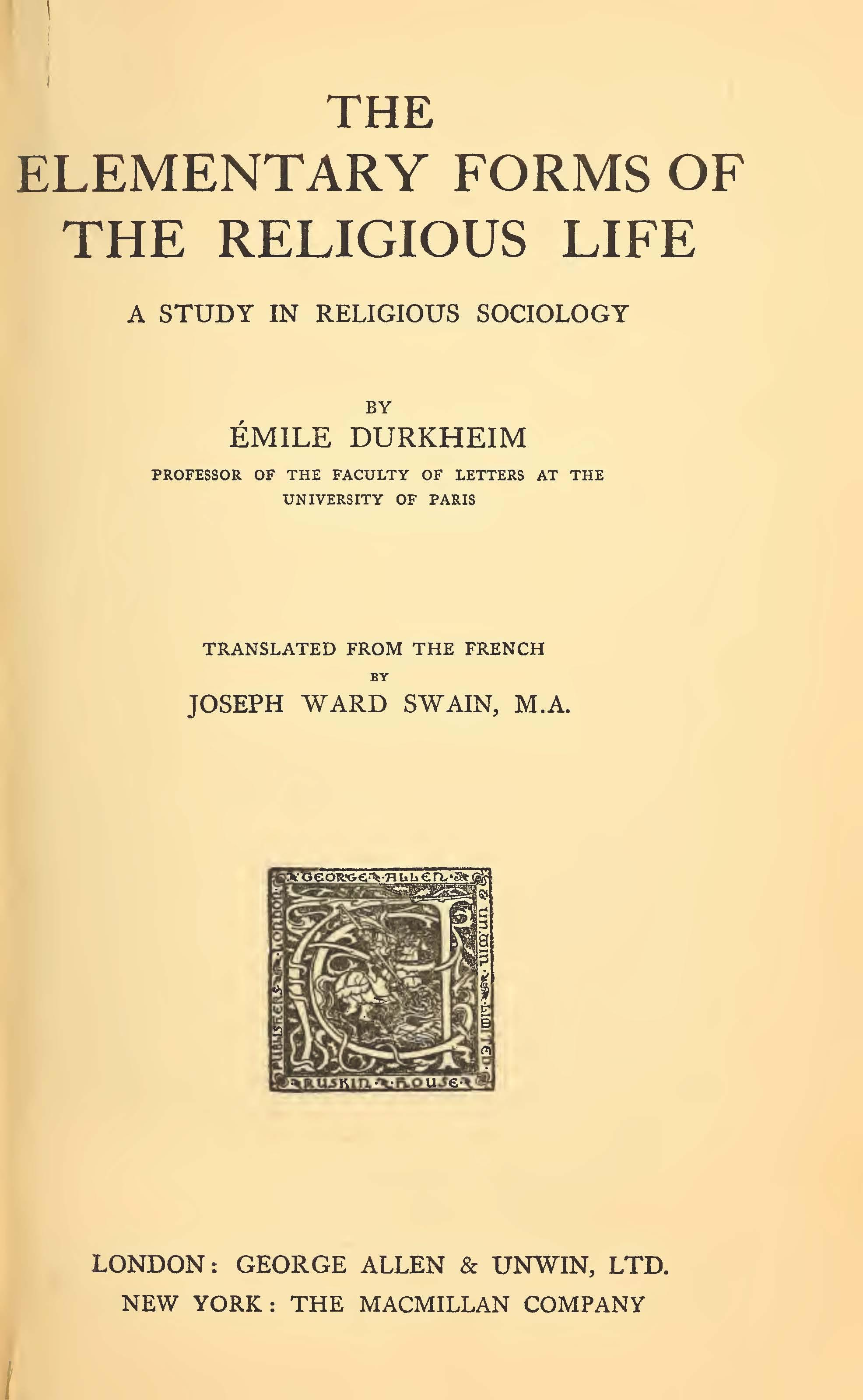 emile durkheim le suicide